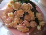 40本のバラの花束☆